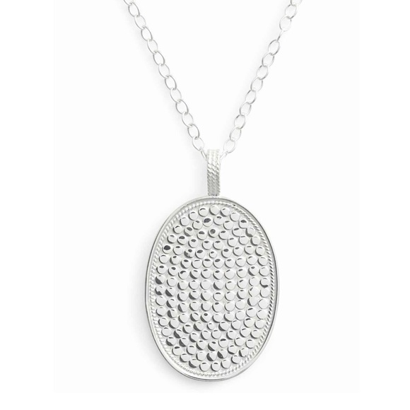 Anna Beck Jewelry - ANNA BECK Large Oval Pendant Necklace NWT